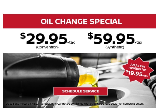 Service Repair Specials In Bayside Nissan Service Coupons Near