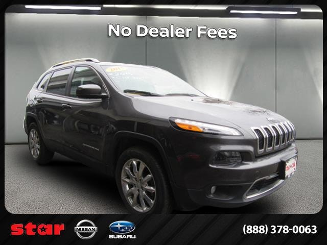 2015 Jeep Cherokee Limited 4WD SUV Queens, NY