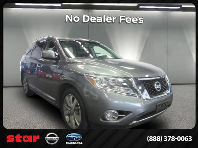 2015 Nissan Pathfinder Platinum 4WD SUV near Queens, NY