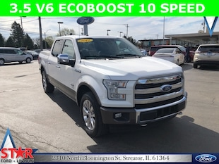 2017 Ford F-150 King Ranch 4WD SuperCrew 145 XLT