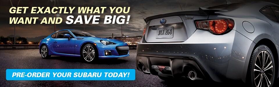 Subaru factory order time