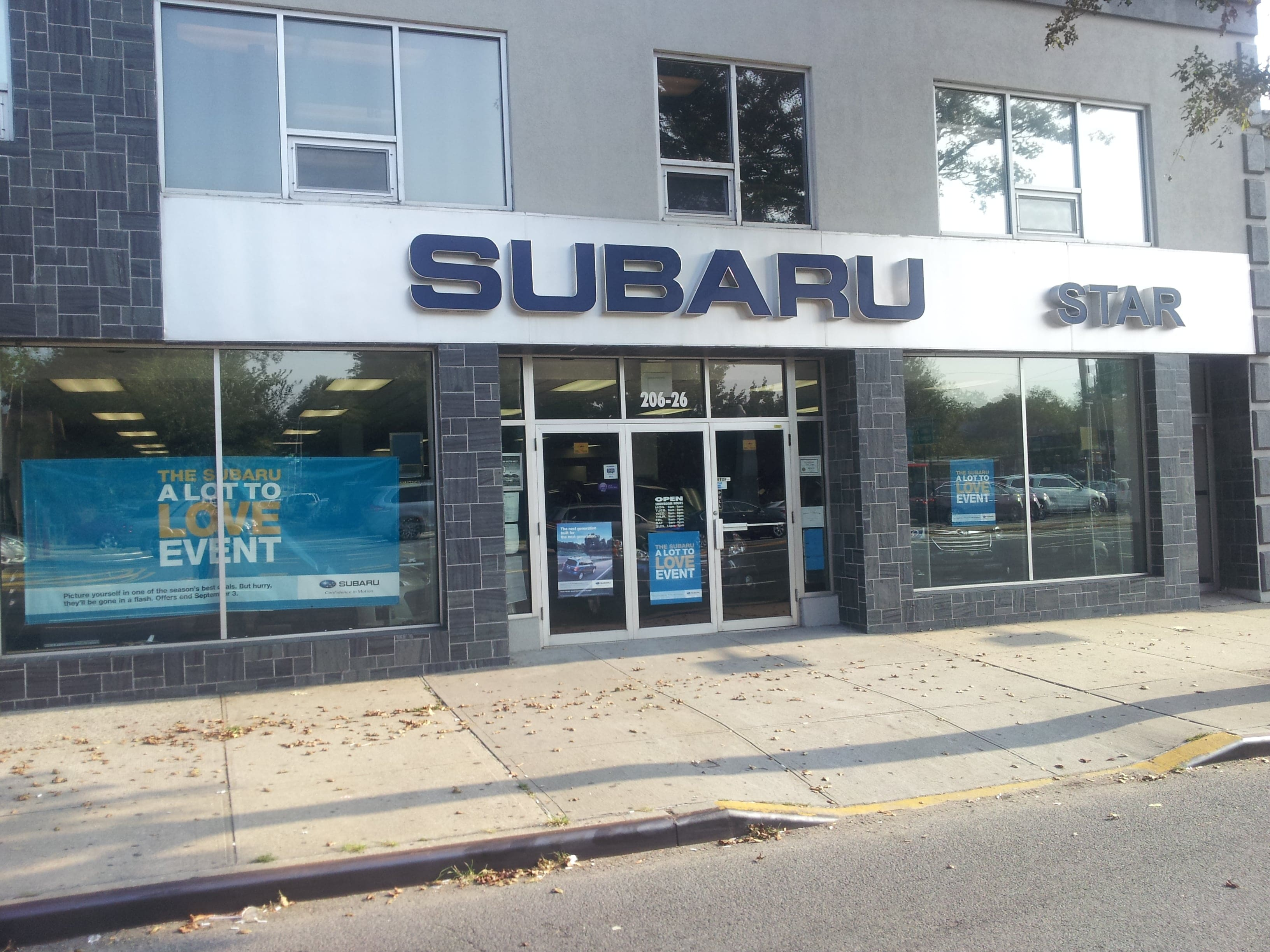 Subaru Love Promise Begins With Star Subaru in Bayside, NY