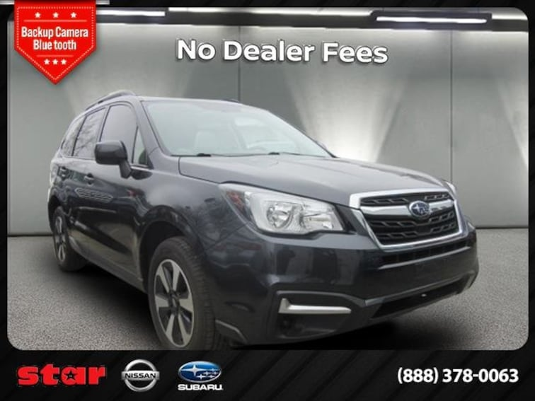 Used 2018 Subaru Forester 2.5i Premium SUV 3753T in Long Island