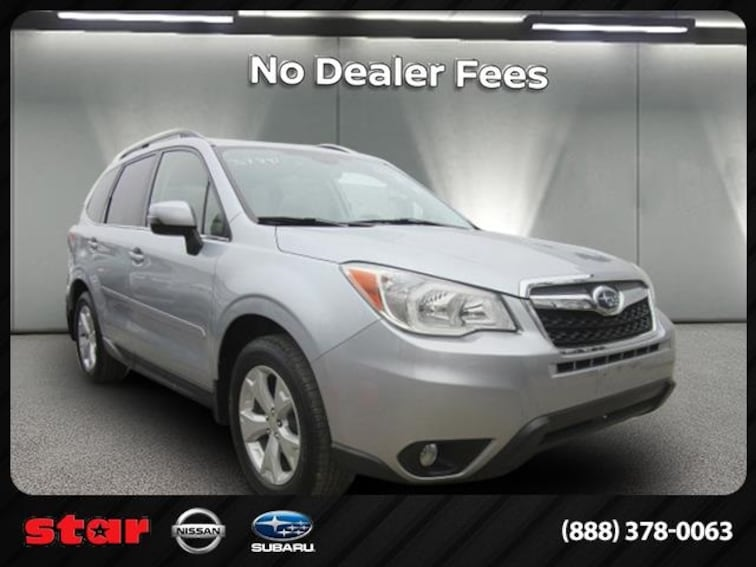 Used 2014 Subaru Forester 2.5i Touring SUV 3789T in Long Island