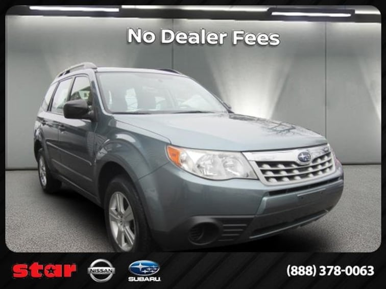 Used 2012 Subaru Forester 2.5X SUV 3798T in Long Island