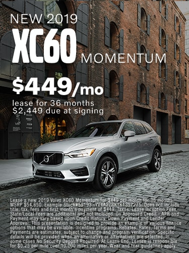 June  | New 2019 Volvo XC60
