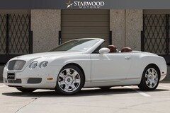 2008 Bentley Continental GTC Base Convertible