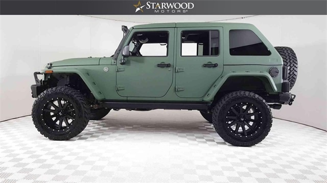 ... Used Or Pre Owned 2017 Jeep Wrangler JK Unlimited Sport 4x4 SUV For  Sale In ...