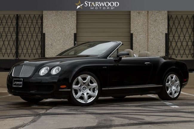 Used 2008 Bentley Continental Gtc For Sale Lufkin Tx Vin