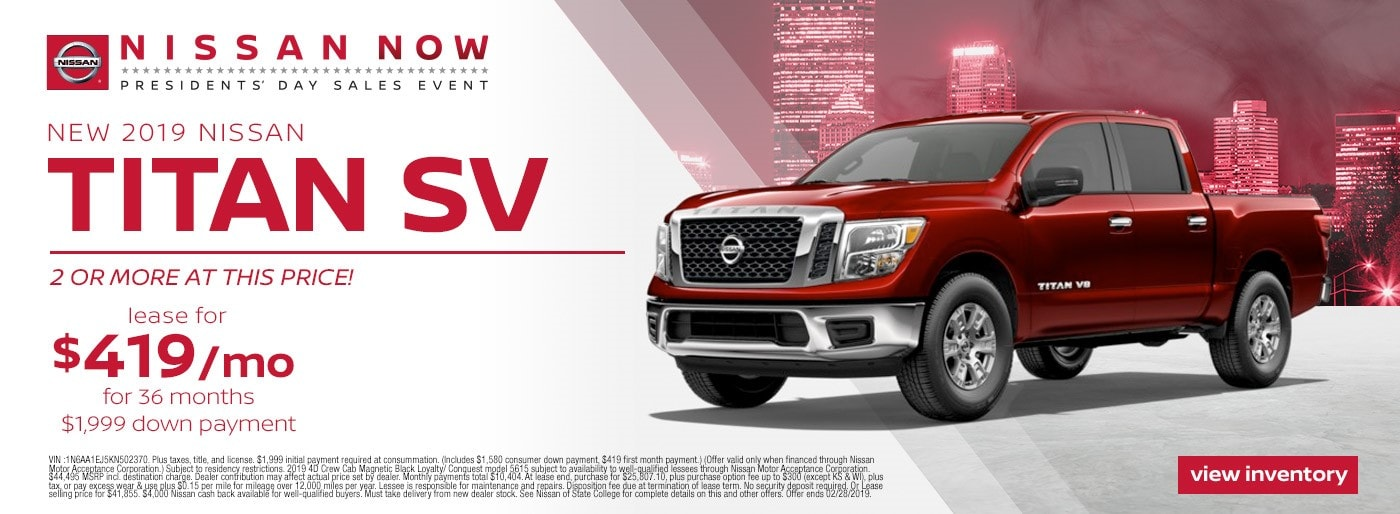 Nissan State College >> New And Used Nissan Dealership In State College Nissan Of State