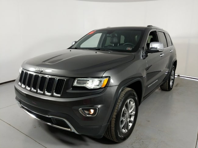 Used vehicle 2016 Jeep Grand Cherokee Limited SUV for sale near you in State College, PA