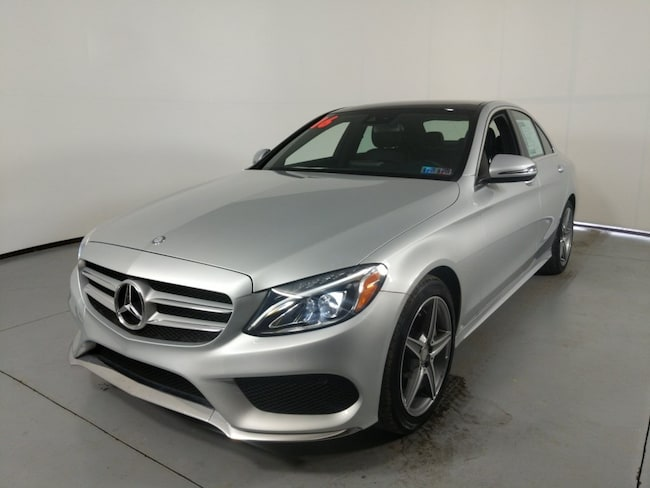 Certified used vehicle 2016 Mercedes-Benz C-Class C 300 Sedan for sale near you in State College, PA