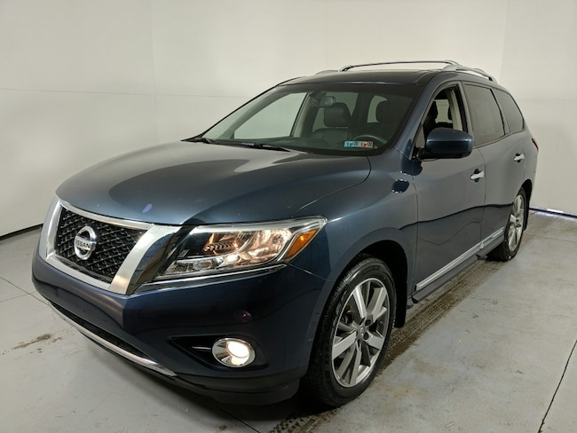 Used vehicle 2015 Nissan Pathfinder Platinum SUV for sale near you in State College, PA