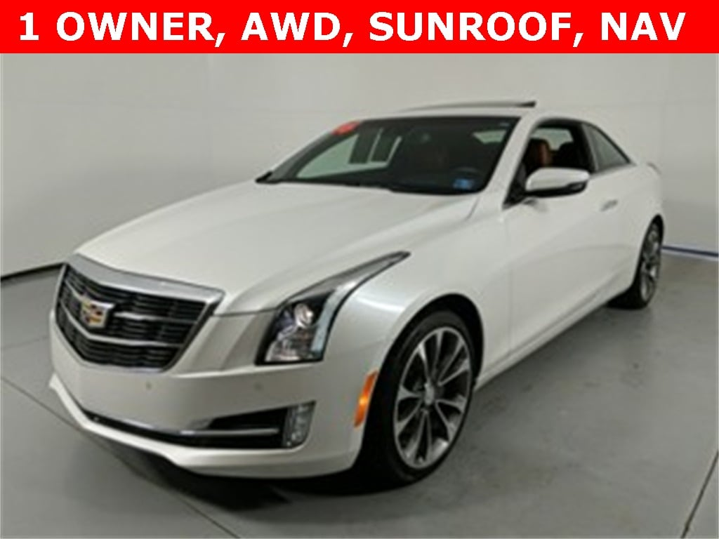 Featured Used 2016 CADILLAC ATS 3.6L Premium Coupe for sale near you in State College, PA