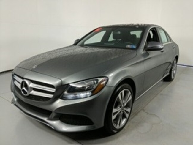 Certified used vehicle 2018 Mercedes-Benz C-Class C 300 Sedan for sale near you in State College, PA