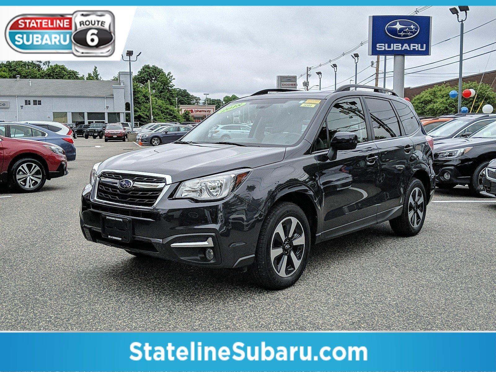 Used 2018 Subaru Forester For Sale at Stateline Subaru   VIN