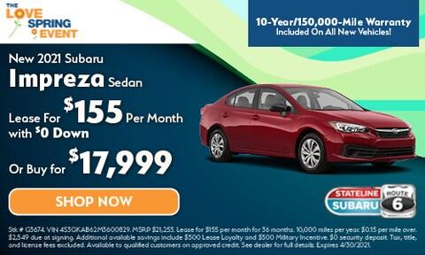 New 2021 Subaru Impreza Sedan