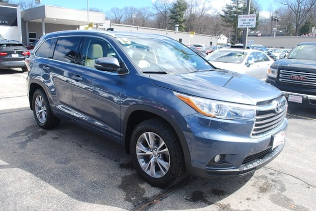 2015 Toyota Highlander For Sale >> Used 2015 Toyota Highlander For Sale At State Motors Lincoln Vin