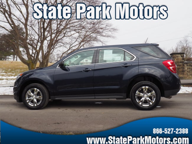 Used 2016 Chevrolet Equinox AWD LS SUV in Wintersville, OH