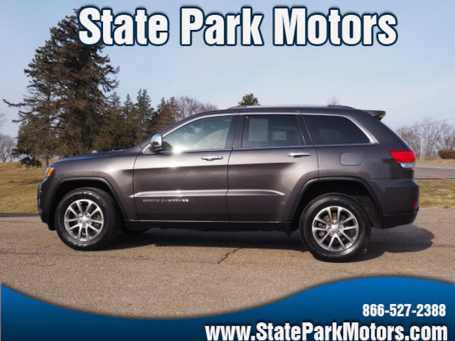 Used 2015 Jeep Grand Cherokee 4X4 Limited SUV in Wintersville, OH