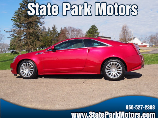 Used 2013 CADILLAC CTS AWD 3.6l Performance Coupe in Wintersville, OH
