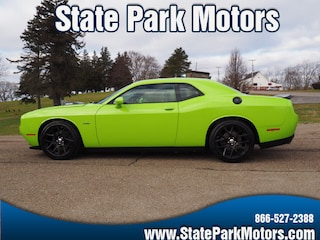 Used cars, trucks, and SUVs 2015 Dodge Challenger R/T Plus Shaker Coupe 868717 for sale near you in Wintersville, OH