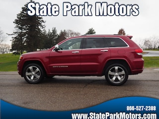 Used cars, trucks, and SUVs 2015 Jeep Grand Cherokee 4X4 Overland SUV 914127 for sale near you in Wintersville, OH