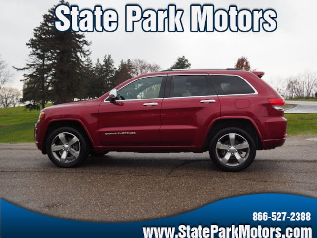 Used 2015 Jeep Grand Cherokee 4X4 Overland SUV in Wintersville, OH