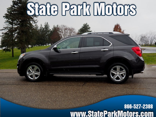 Used 2015 Chevrolet Equinox LTZ SUV in Wintersville, OH