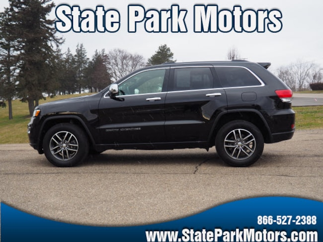 Used 2017 Jeep Grand Cherokee 4X4 Limited SUV in Wintersville, OH