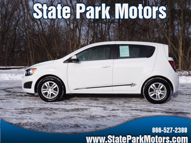Used 2015 Chevrolet Sonic LT Auto Hatchback in Wintersville, OH