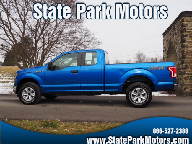 Used 2015 Ford F-150 4X4 Super Cab XL Truck SuperCab Styleside in Wintersville, OH