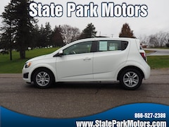 Bargain used vehicles 2016 Chevrolet Sonic LT Auto Hatchback for sale near you in Wintersville, OH