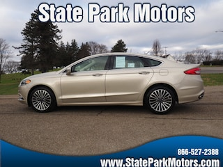 Used cars, trucks, and SUVs 2018 Ford Fusion AWD Titanium Sedan 154928 for sale near you in Wintersville, OH