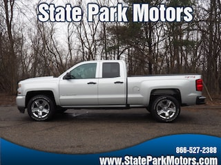 Used cars, trucks, and SUVs 2016 Chevrolet Silverado 1500 4X4 Custom Couble Cab Truck Double Cab 257498 for sale near you in Wintersville, OH