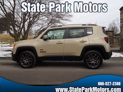 All used cars, trucks, and SUVs 2016 Jeep Renegade 4X4 Latitude 75th Anniversary SUV for sale near you in Wintersville, OH