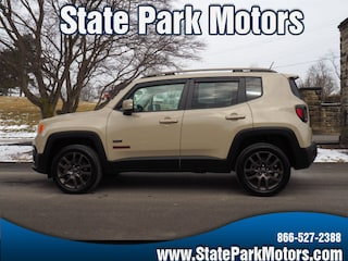 Used cars, trucks, and SUVs 2016 Jeep Renegade 4X4 Latitude 75th Anniversary SUV D17320 for sale near you in Wintersville, OH