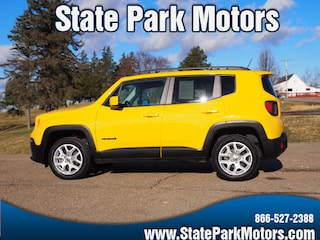 Used cars, trucks, and SUVs 2017 Jeep Renegade 4X4 Latitude SUV F29781 for sale near you in Wintersville, OH