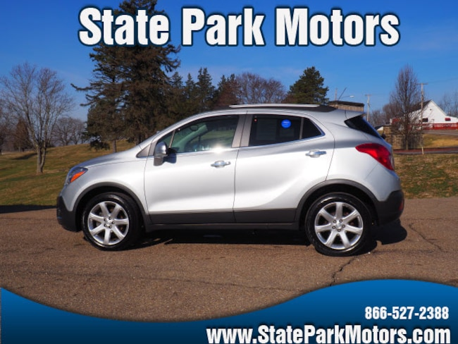 Used 2015 Buick Encore AWD Leather SUV in Wintersville, OH
