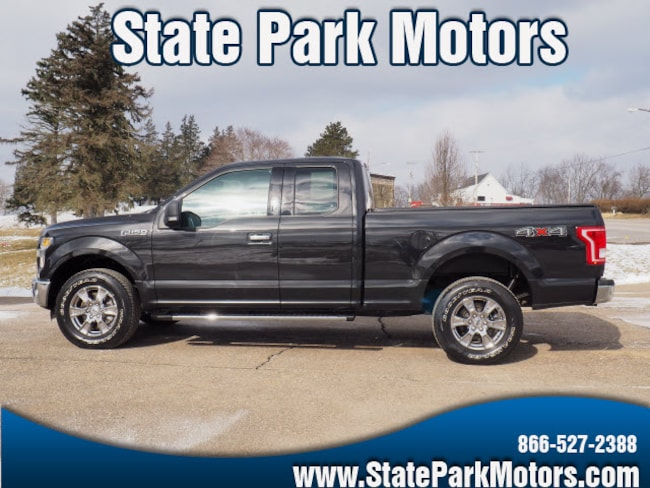Used 2015 Ford F-150 4X4 Super Cab XLT Truck SuperCab Styleside in Wintersville, OH