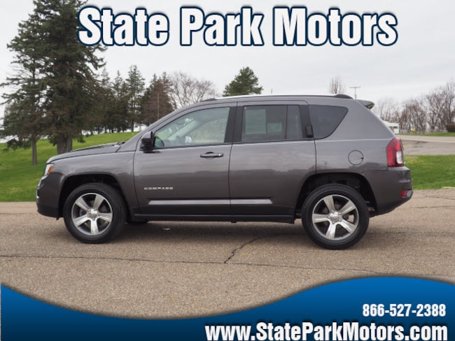 Used 2016 Jeep Compass 4X4 High Altitude SUV in Wintersville, OH
