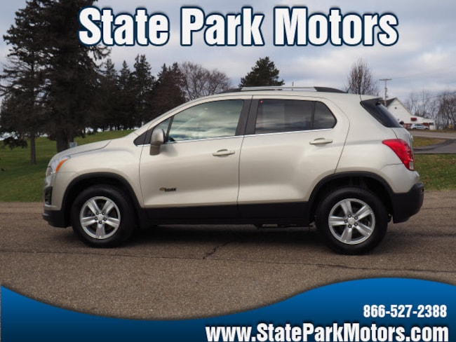 Used 2016 Chevrolet Trax AWD LT SUV in Wintersville, OH