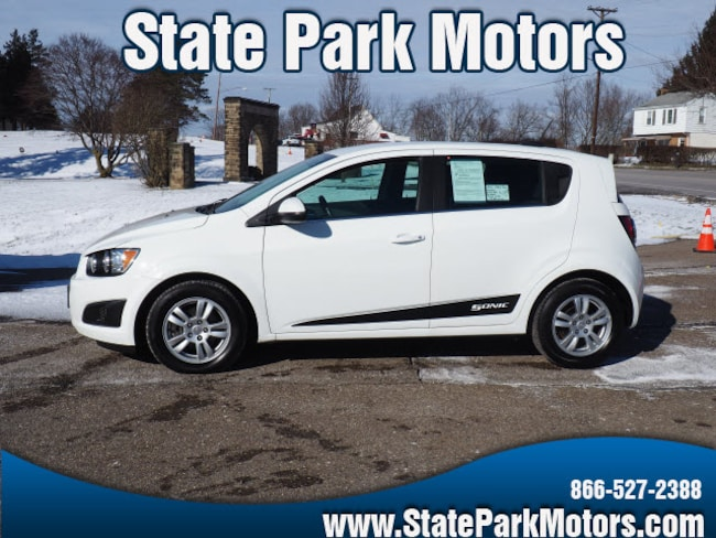 Used 2016 Chevrolet Sonic LT Auto Hatchback in Wintersville, OH