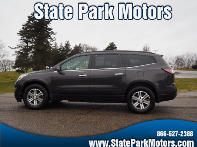 Used 2015 Chevrolet Traverse AWD LT SUV in Wintersville, OH