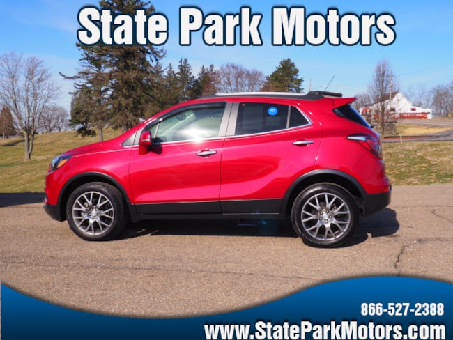 Used 2017 Buick Encore AWD Sport Touring SUV in Wintersville, OH