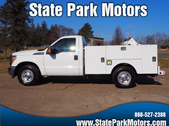 2012 Ford F-250 4x2 Regular Cab Stahl Utility 4x2 XL  Regular Cab 8 ft. LB Pickup