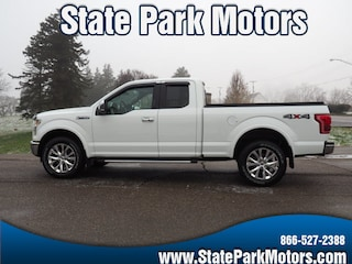 Used cars, trucks, and SUVs 2015 Ford F-150 4X4 Super Cab Lariat Truck SuperCab Styleside A14629 for sale near you in Wintersville, OH