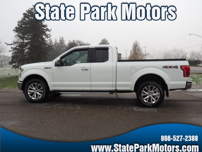 Used 2015 Ford F-150 4X4 Super Cab Lariat Truck SuperCab Styleside in Wintersville, OH