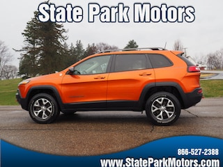 Used cars, trucks, and SUVs 2016 Jeep Cherokee 4X4 Trailhawk SUV 101102 for sale near you in Wintersville, OH