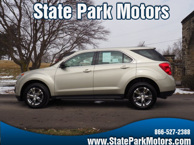 Used 2014 Chevrolet Equinox AWD LS SUV in Wintersville, OH